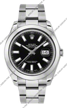 Rolex Oyster Perpetual Datejust II 116300 BKIO 41mm