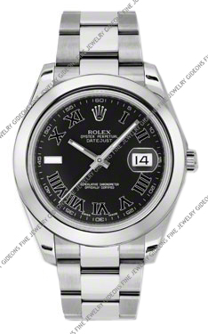 Rolex Oyster Perpetual Datejust II 116300 BKRIO 41mm