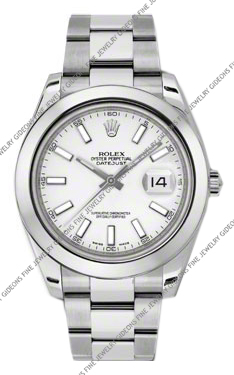 Rolex Oyster Perpetual Datejust II 116300 WIO 41mm