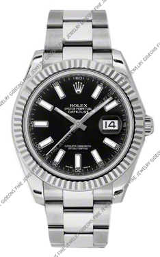 Rolex Oyster Perpetual Datejust II 116334 BKIO 41mm