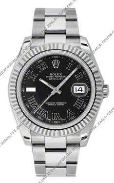 Rolex Oyster Perpetual Datejust II 116334 BKRIO 41mm