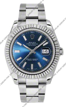 Rolex Oyster Perpetual Datejust II 116334 BLIO 41mm