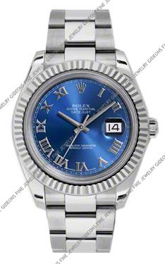 Rolex Oyster Perpetual Datejust II 116334_BLRO 41mm