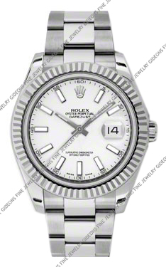 Rolex Oyster Perpetual Datejust II 116334 WIO 41mm