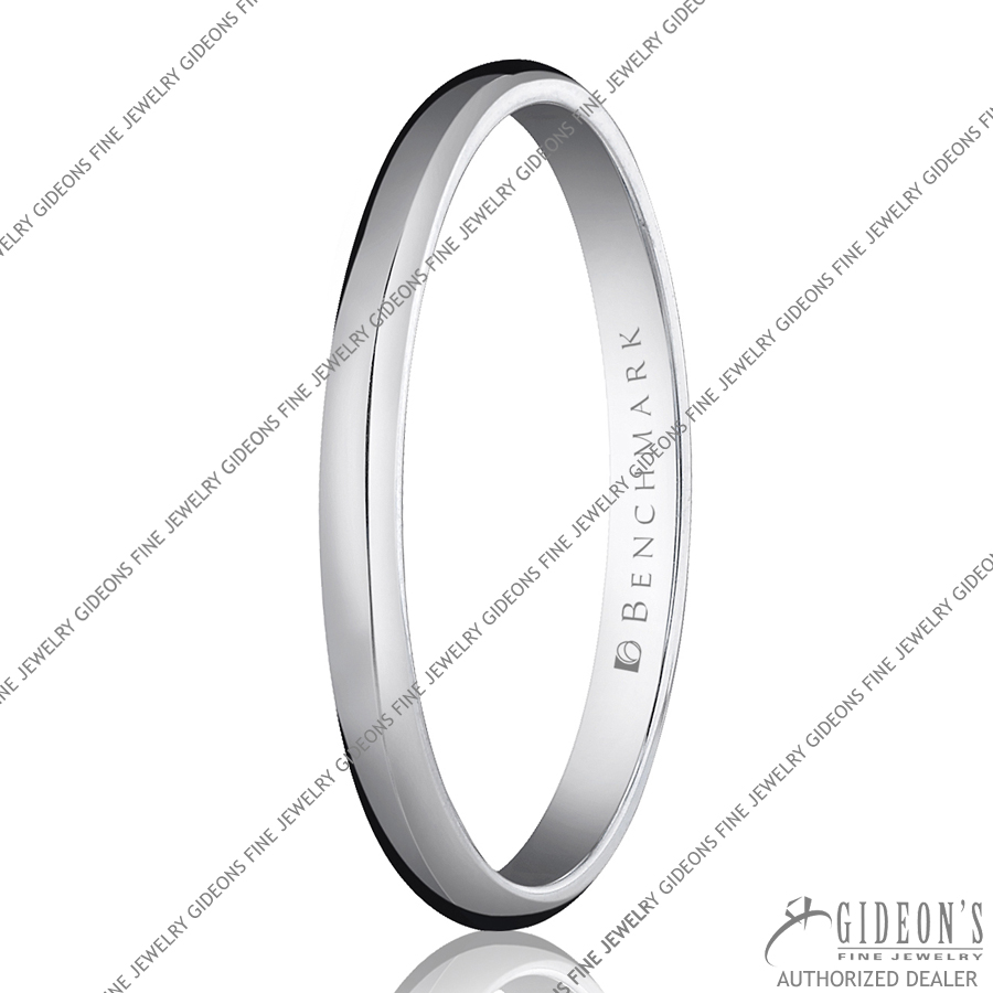 Benchmark Classic Bands Traditional Oval 120 2 mm