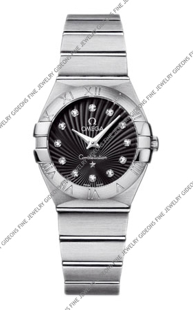 Omega Constellation Quartz 123.10.27.60.51.001 27 mm