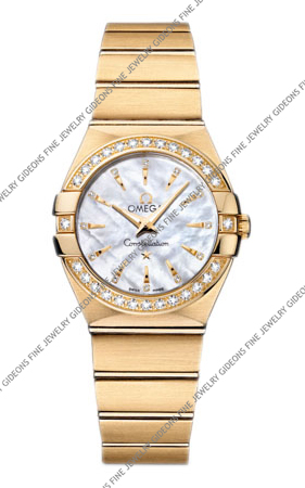 Omega Constellation Quartz 123.55.27.60.55.004 27 mm