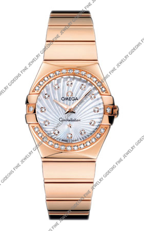 Omega Constellation Quartz 123.55.27.60.55.005 27 mm