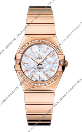 Omega Constellation Quartz 123.55.27.60.55.006 24 mm