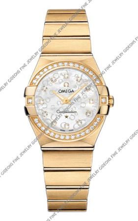Omega Constellation Quartz 123.55.27.60.55.016 27 mm