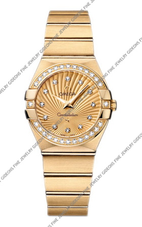 Omega Constellation Quartz 123.55.27.60.58.001 27 mm