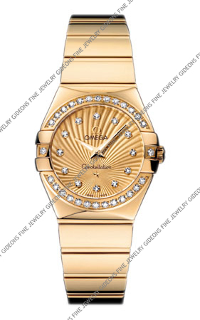 Omega Constellation Quartz 123.55.27.60.58.002 27 mm
