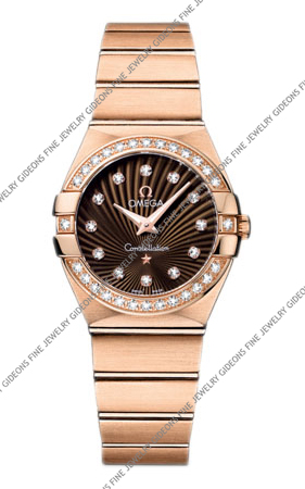 Omega Constellation Quartz 123.55.27.60.63.001 27 mm