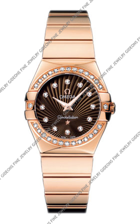 Omega Constellation Quartz 123.55.27.60.63.002 27 mm