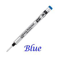 Single Montblanc Blue Medium Refill For LeGrand Rollerball Pens 12353