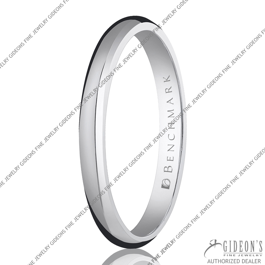Benchmark Classic Bands Traditional Oval 125 2.5 mm