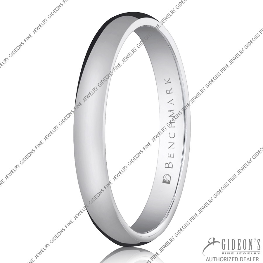 Benchmark Classic Bands Traditional Oval 130 3 mm