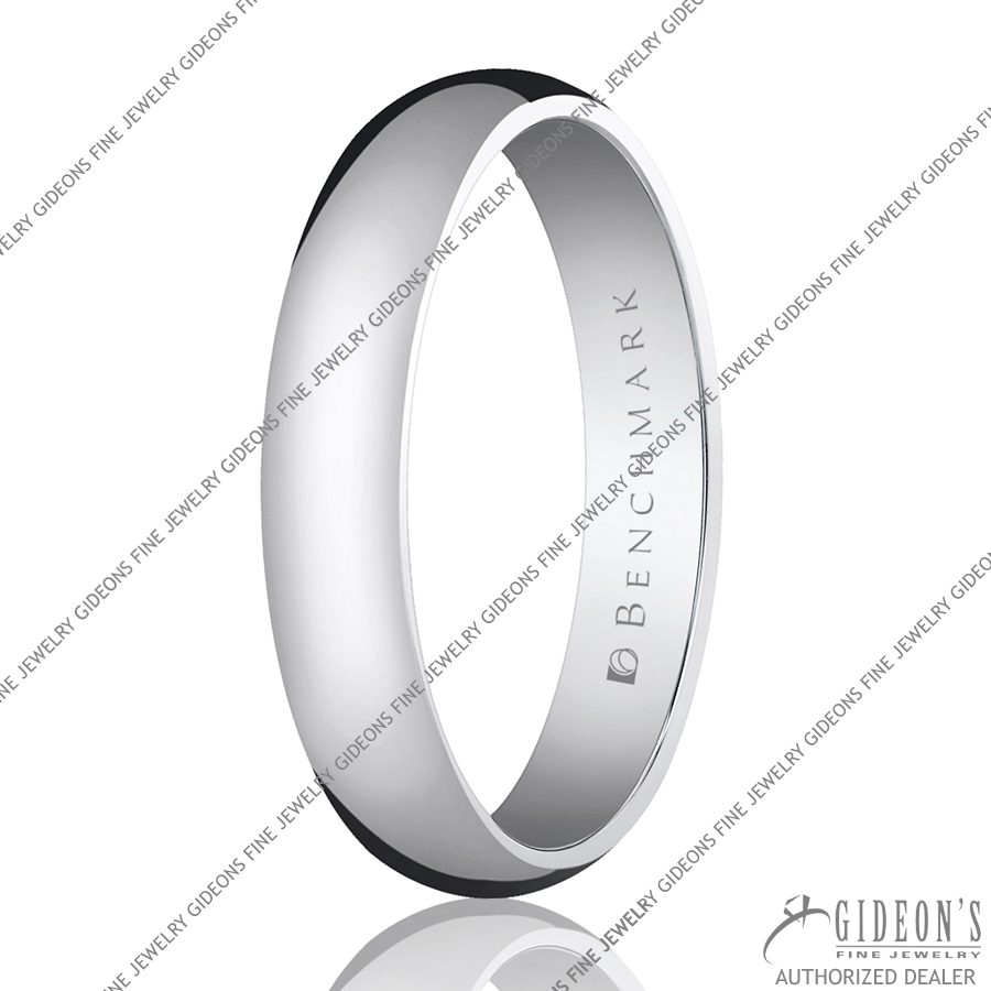 Benchmark Classic Bands Traditional Oval 140 4 mm
