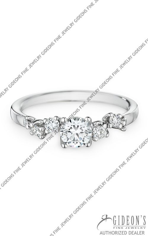 Christian Bauer 18k White Gold Engagement 144170