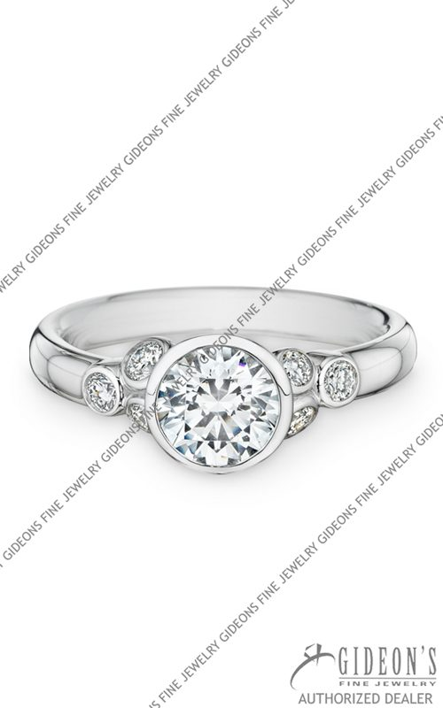 Christian Bauer 18k White Gold Engagement 144175