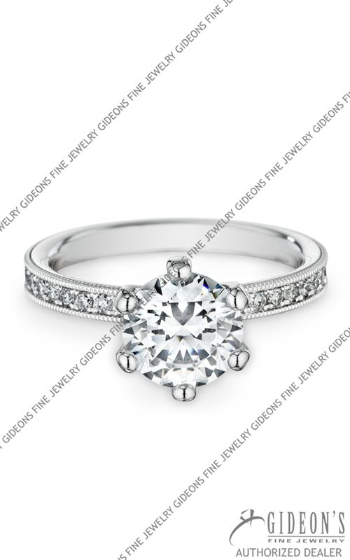 Christian Bauer 18k White Gold Engagement 146230