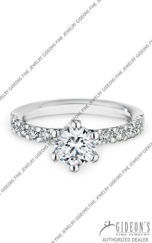 Christian Bauer 18k White Gold Engagement 146234
