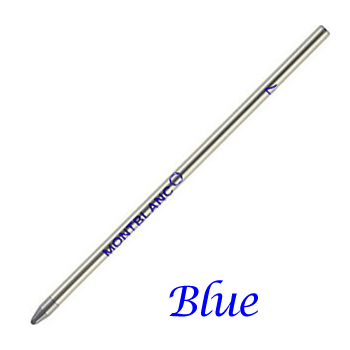 Single Montblanc Blue Medium Refill For Mozart Ballpoint Pens 15715
