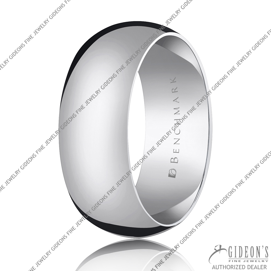 Benchmark Classic Bands Traditional Oval 180 8 mm