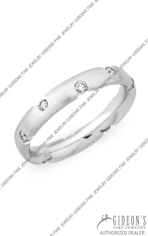 Christian Bauer 18k White Gold Wedding Band 245403