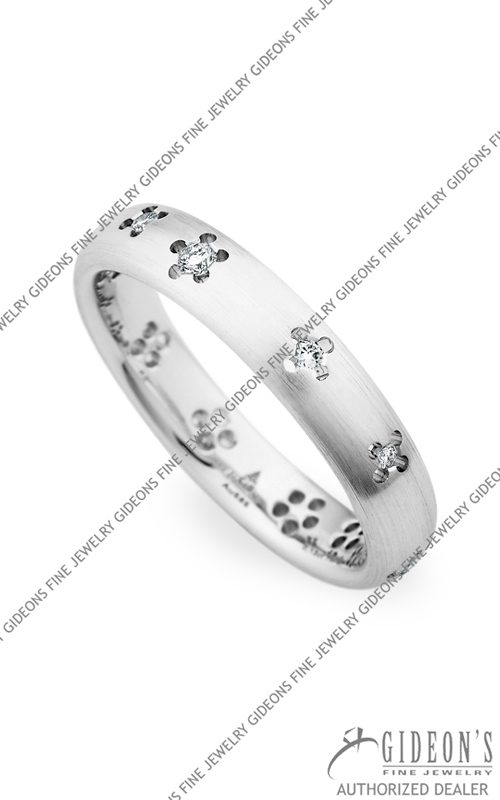 Christian Bauer 14k White Gold Wedding Band 245415