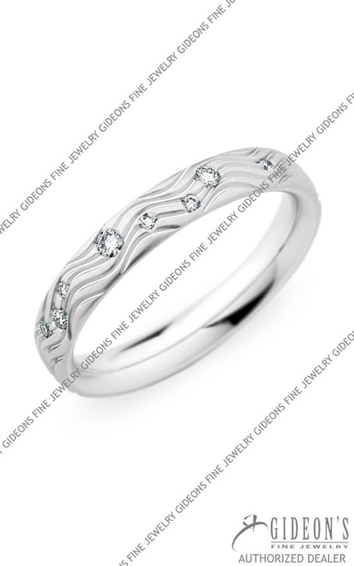 Christian Bauer 18k White Gold Wedding Band 245419
