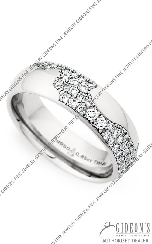 Christian Bauer Palladium Wedding Band 246804