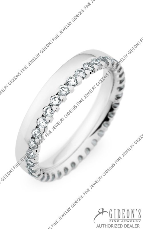 Christian Bauer 14k White Gold Wedding Band 246858