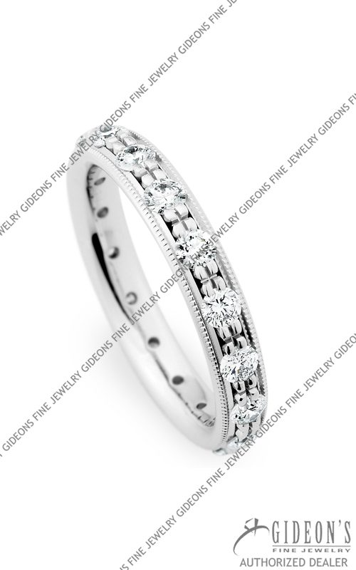 Christian Bauer 14k White Gold Wedding Band 246878