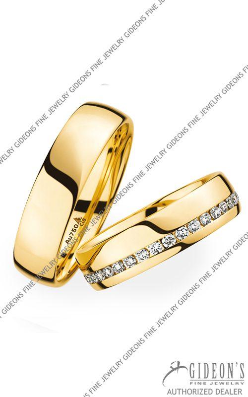 Christian Bauer 18k Yellow Gold Wedding Band Set 270952-246725