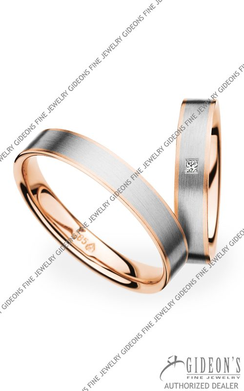 Christian Bauer 14k Gold Wedding Band Set 273622-241271