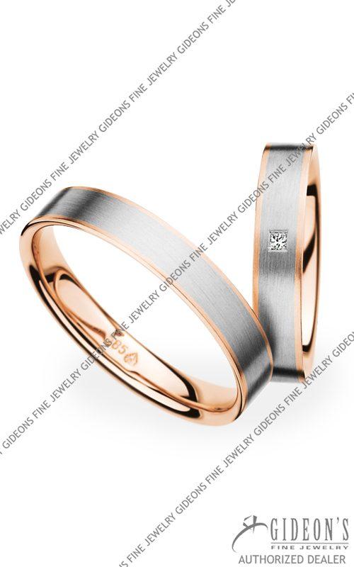 Christian Bauer 14k Gold Wedding Band Set 273622-241271