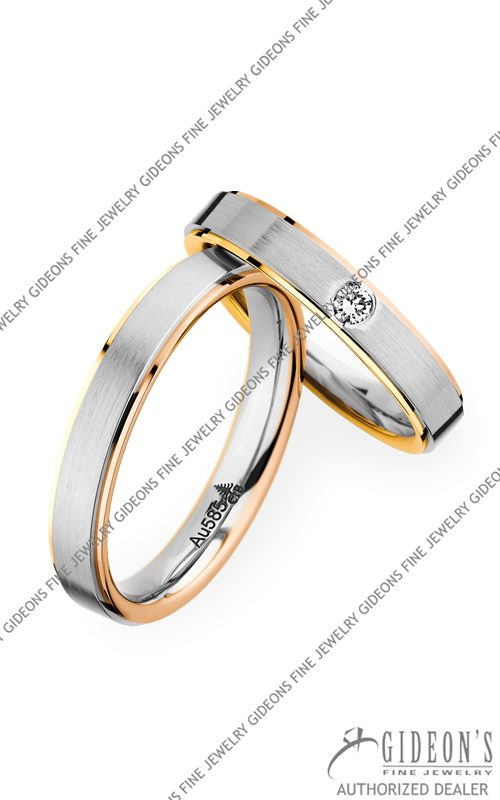 Christian Bauer 14k Gold Wedding Band Set 273638-241282