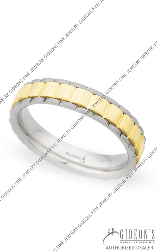 Christian Bauer 14k White and Yellow Gold Band 274260