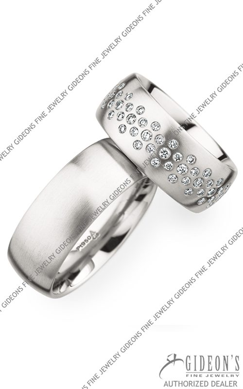Christian Bauer Platinum Wedding Band Set 280020-246839