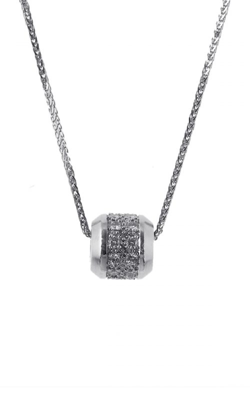 Gideon's Exclusive Platinum Contemporary Diamond Pendant