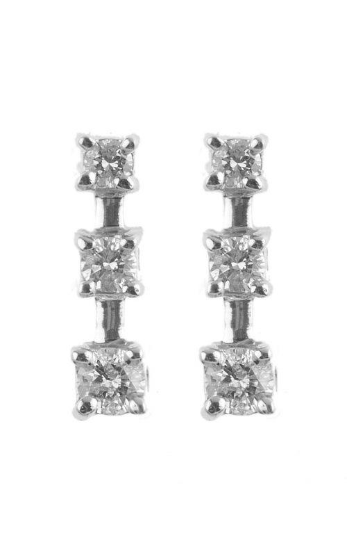 Gideon's Exclusive 14K White Gold Drop Earring