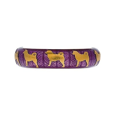 Hidalgo Stackable Rings Puppy Lovers Collection (7-445)