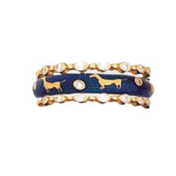 Hidalgo Stackable Rings Puppy Lovers Collection Set  (7-472 & 7-472G)