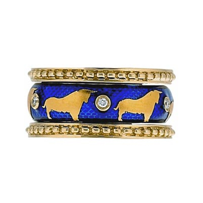 Hidalgo Stackable Rings Wild Life Collection Set  (7-510 & 7-510G)