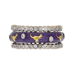 Hidalgo Stackable Rings Wild Life Collection Set  (7-511 & 7-511G)
