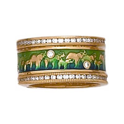 Hidalgo Stackable Rings Wild Life Collection Set  (7-512 & 7-512G)