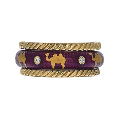 Hidalgo Stackable Rings Wild Life Collection Set  (7-513 & 7-513G)