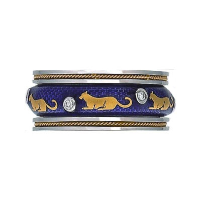 Hidalgo Stackable Rings Wild Life Collection Set  (7-517 & 7-517G)