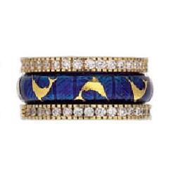 Hidalgo Stackable Rings Sea Life Collection Set  (7-557 & 7-557G)